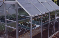 Clear plastic sheeting for greenhouses